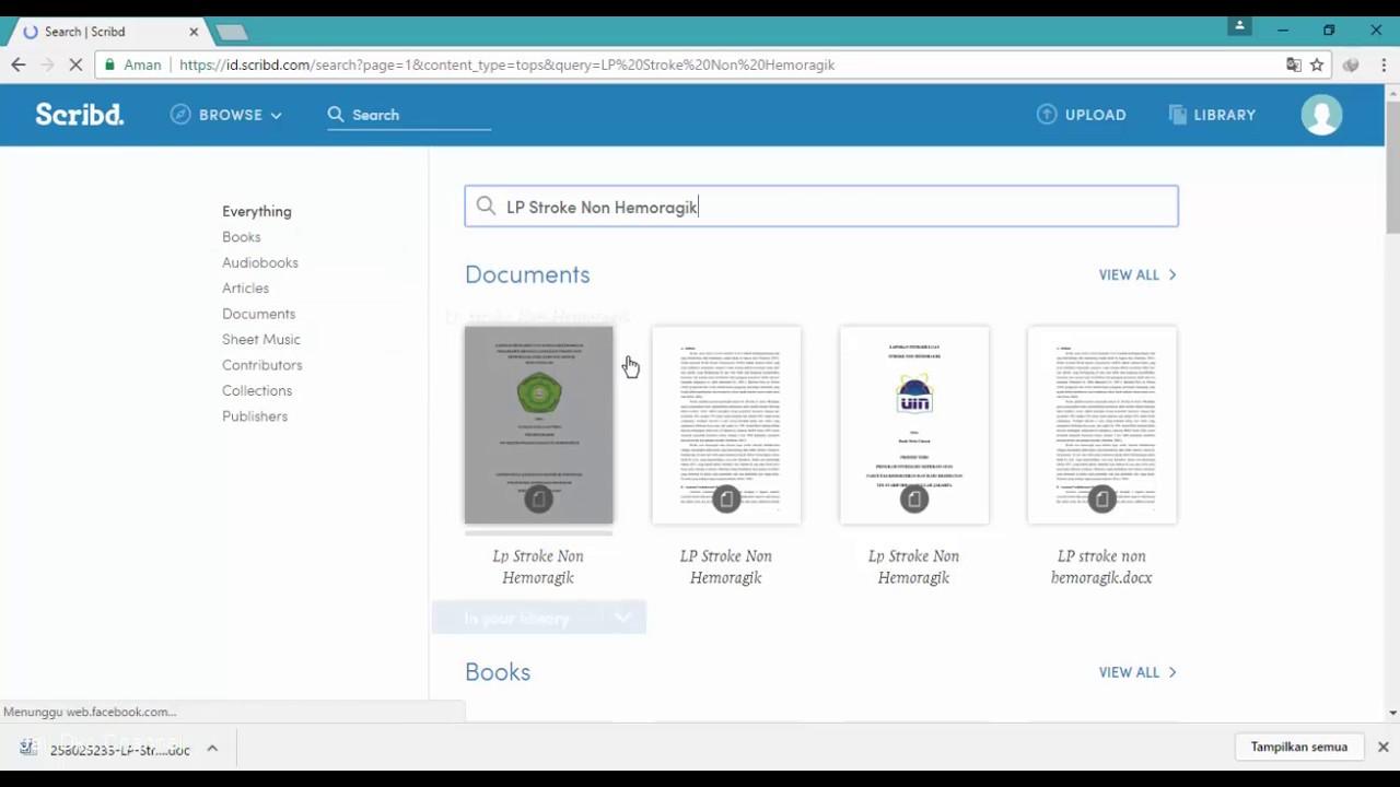 Cara Download Dokumen Di Scribd Tanpa Berbayar Youtube