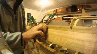 Cedar Strip Kayak Construction