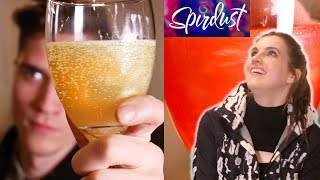 People Try Glitter Beer, Drinks And Cocktails with Spirdust