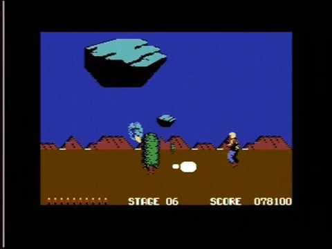 """SPACE HARRIER (C64 - FULL GAME """"U.K. VERSION"""")"""