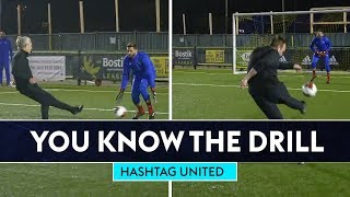 BULLARD'S TEAM SOCCER AM VS HASHTAG UNITED! 🎮⚽ | You Know The Drill
