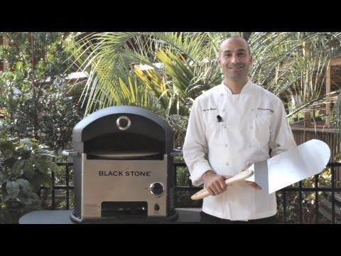 Blackstone Pizza Oven Demo & Pizza Cooking Time Lapse