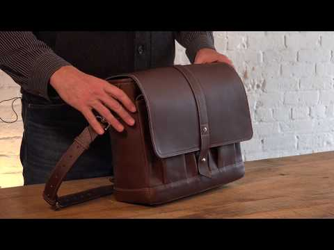 Attache Leather Messenger Bag Review By Pad & Quill