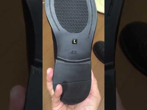 革靴風レインブーツウィングチップ開封動画