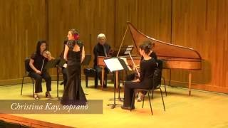 Christina Kay, soprano singing from Teseo in the Handel Aria Competition 2016
