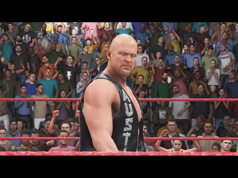 "WWE 2K20 ""Stone Cold"" Steve Austin entrance video"