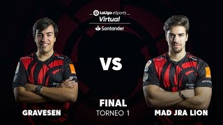GRAVESEN VS MAD JRA LION- Virtual LaLiga eSports Santander - GRAN FINAL - KICK OFF