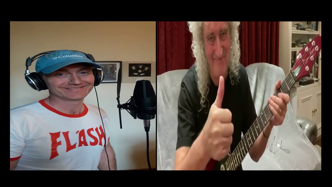 Love Of My Life - Brian May Jam - Eddie Devlin- Queen One Vision Tribute Band