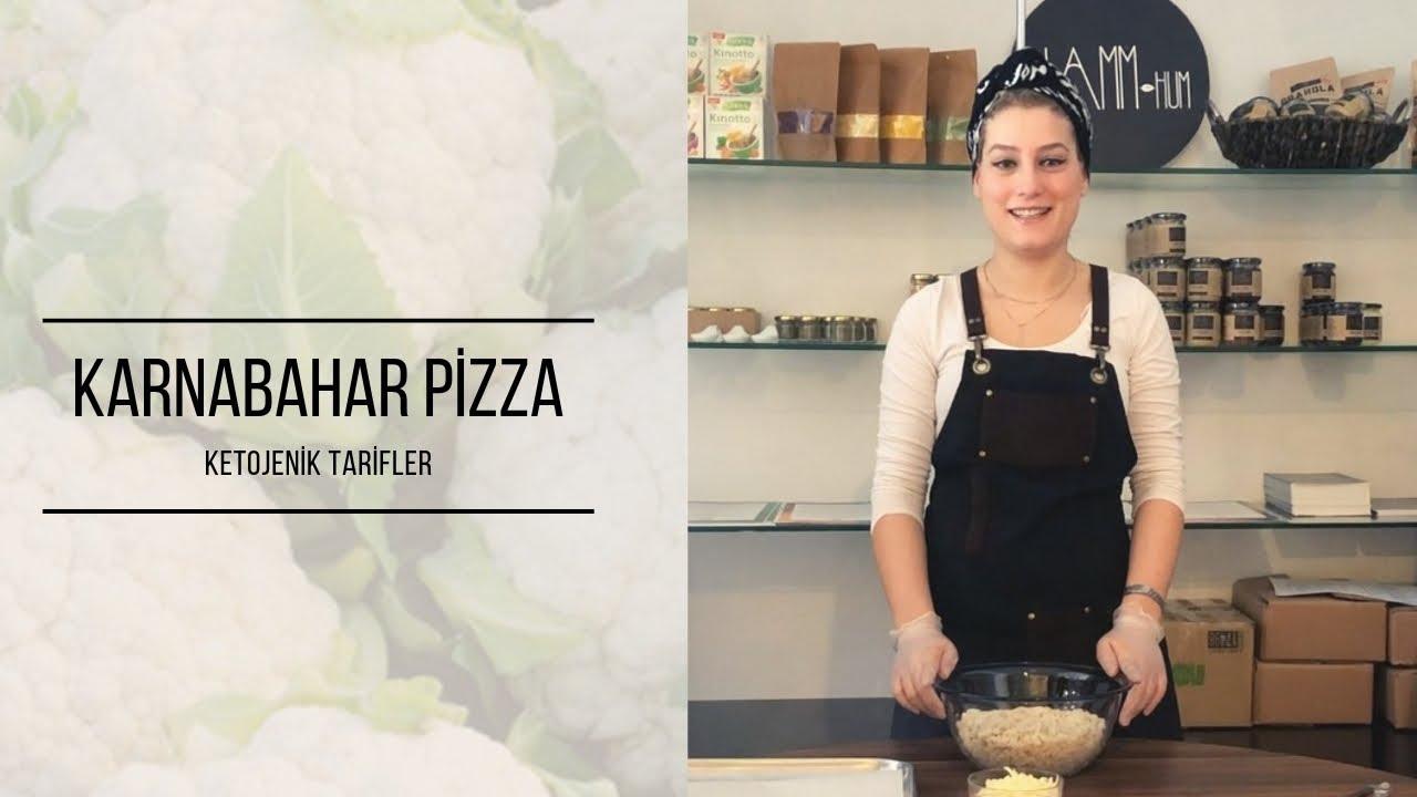 Ketojenik Tarifler: Karnabahar Pizza