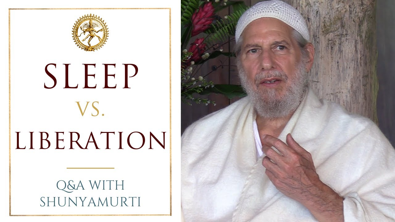 Why Do We Fall Asleep in Meditation - Questions and Answers with Shunyamurti