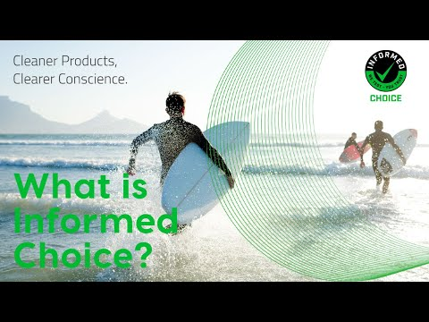 Informed Choice - Cleaner Products. Clearer Conscience. - Sports Nutrition Banned Substance Testing