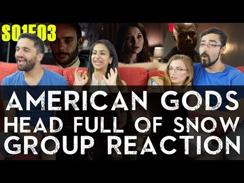 American Gods - 1x3 Head Full of Snow - Group Reaction