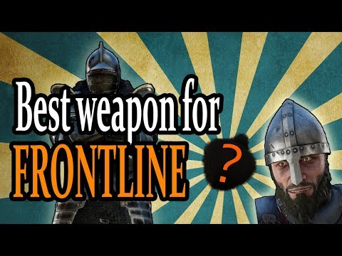 Mordhau | Best weapon for FRONTLINE! High level tips! (In-game footage)
