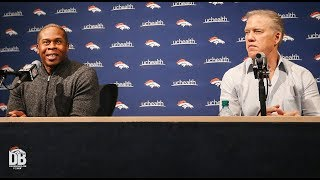 End-of-season Presser: GM John Elway and Head Coach Vance Joseph