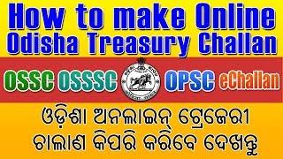 Treasury Challan Form Pdf Odisha