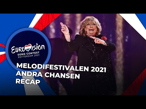 Melodifestivalen 2021 (Sweden) | Andra Chansen | RECAP