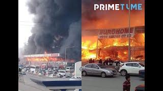 Bakıda məşhur bazar yanır - SON DƏQİQƏ