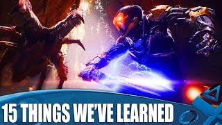 Anthem - 15 New Things We Learned
