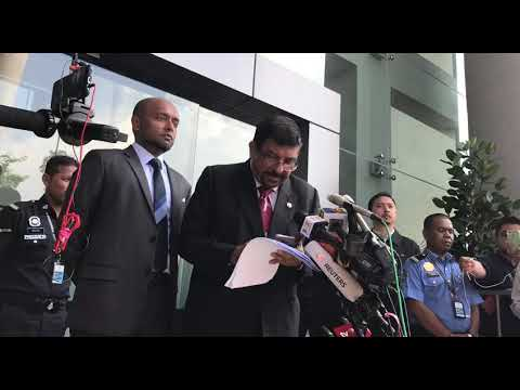 Rosmah Mansor's lawyer speaks to media after anti-graft agency questioning