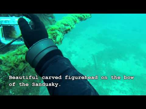 Diving the Straits of Mackinac, August 2013