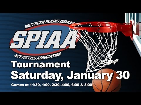 SPIAA Basketball Tournament - January 30, 2016