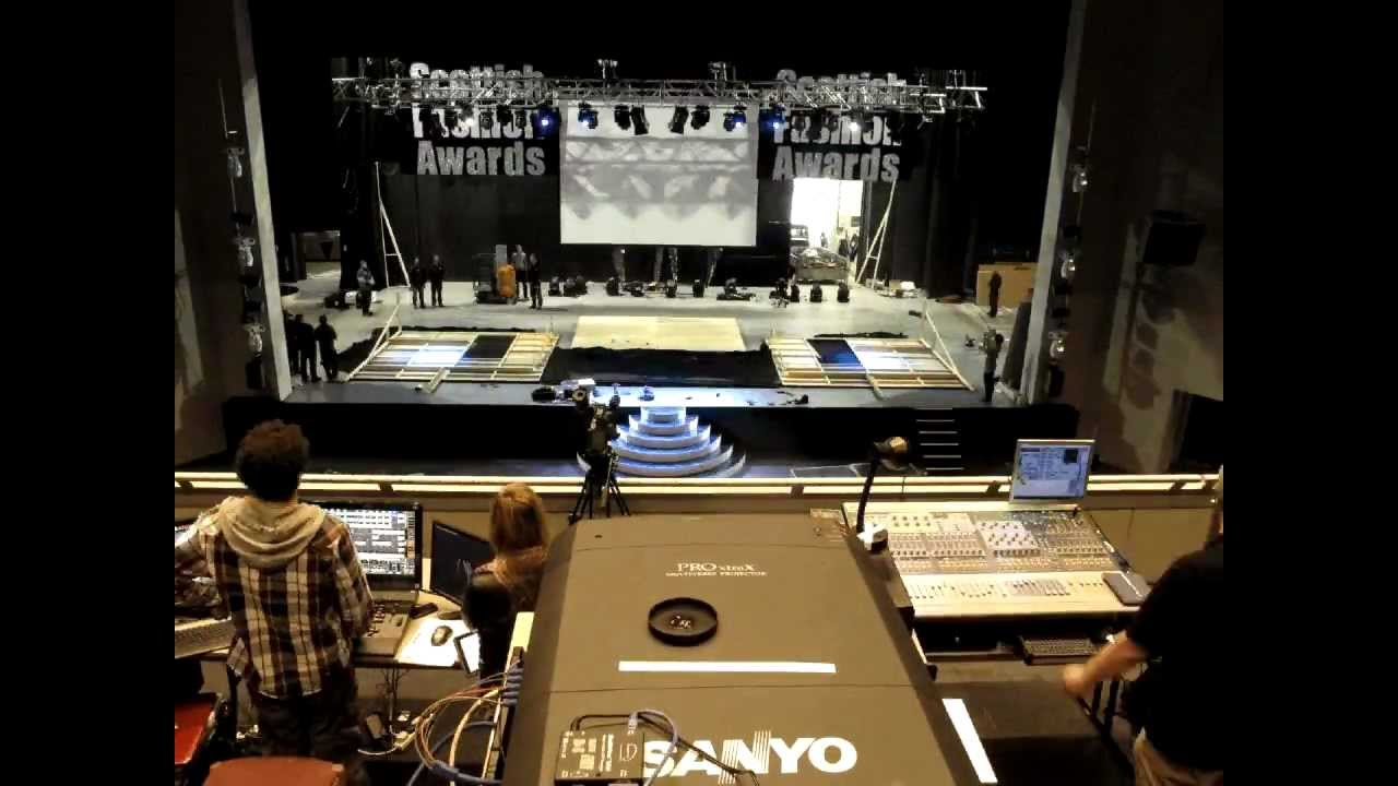 Scottish Fashion Awards 2012 Stage Build Time Lapse
