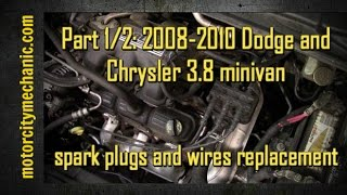 NEW 01-08 Dodge Caravan Chrysler Town /& Country 3.3//3.8 V6 Spark Plug Wires,OEM