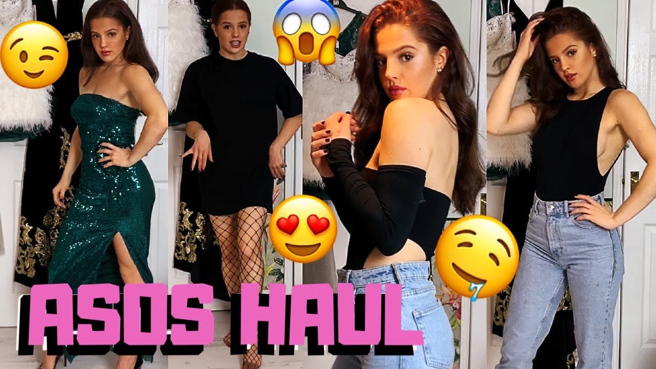 ASOS JANUARY SALES CLOTHING TRY ON HAUL | Emily Monks