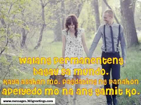 Sweet Pick up Lines Tagalog - YouTube