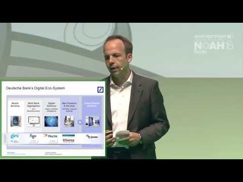 Dr Markus Pertlwieser, Deutsche Bank - Axel Springer NOAH16 Berlin