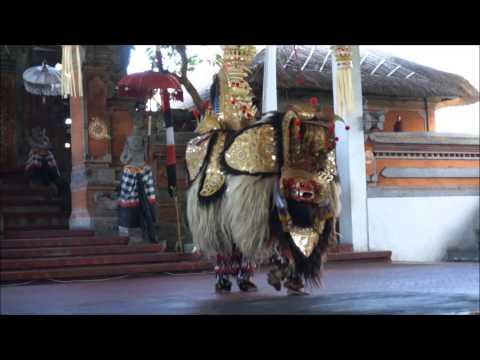Barong Lion Dance of Bali