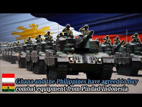 Ghana & The Philippines Have Agreed To Buy Combat Equipment From Pindad Indonesia!