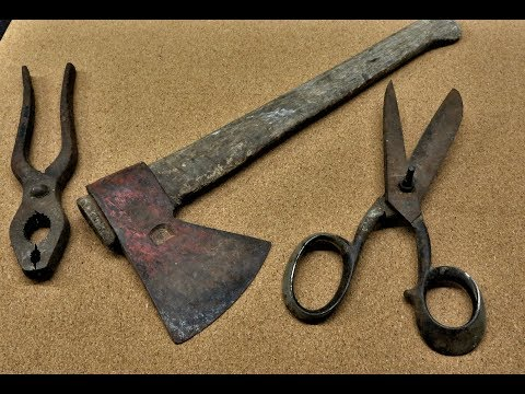 Restoration Of Some Old Tools