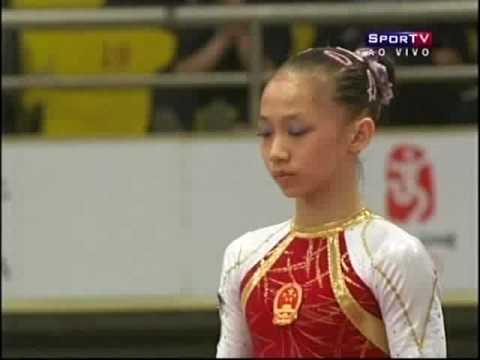 2008 Tianjin World Cup - Yang Yilin UB (Gold - 16.925)
