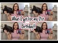 What I got for my 21st Birthday!! | Lauren Kathrynn