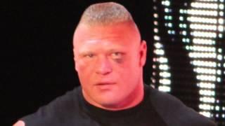 Brock Lesnar shoots on Chyna and Kurt Angle