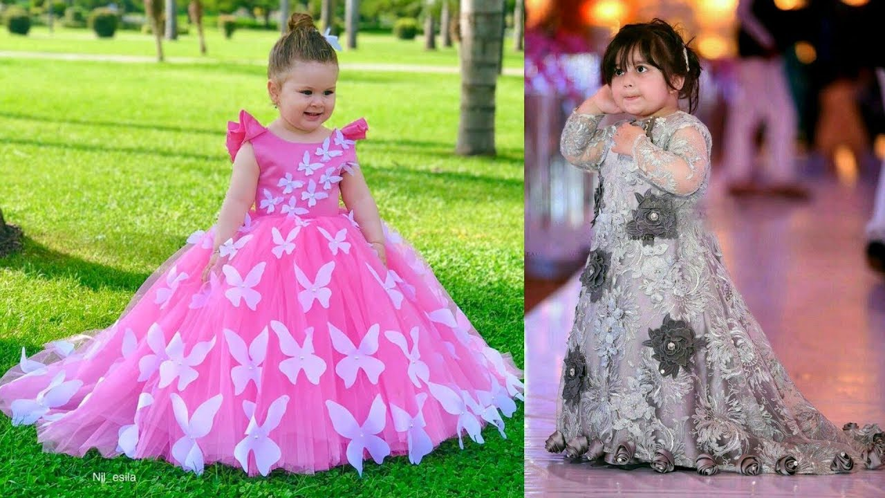 Latest Baby Gown  Party Wear Dresses For Kids  Girls Party Dresses 7   Little Girls Dresses