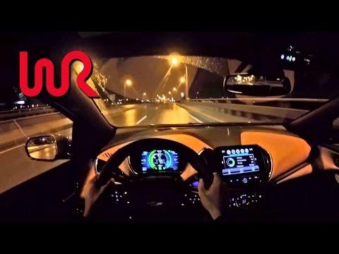 2016 Chevrolet Volt Premier - WR TV POV Night Drive