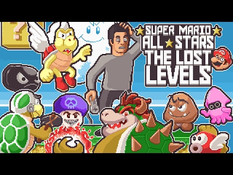 Super Mario All Stars: The Lost Levels (SNES) Full Playthrough