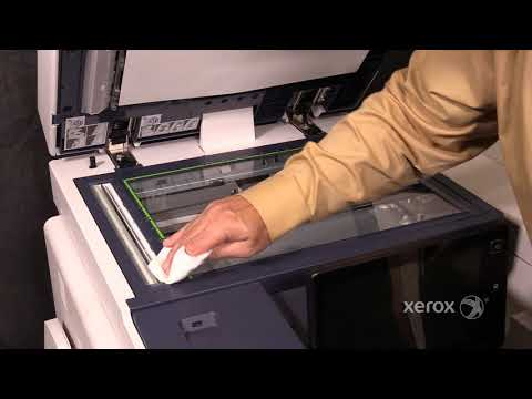 Xerox® AltaLink® B8090 Family Cleaning the Constant Velocity Transfer Glass CVT