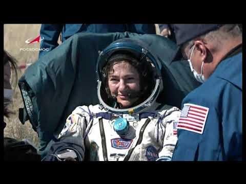 NTV VideoFile Expedition 62 Landing - April 17, 2020