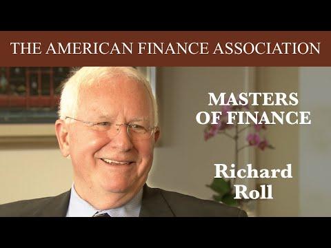 Masters of Finance: Richard Roll