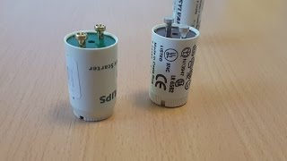 Why my new Fluorescent lamp starter does not work?
