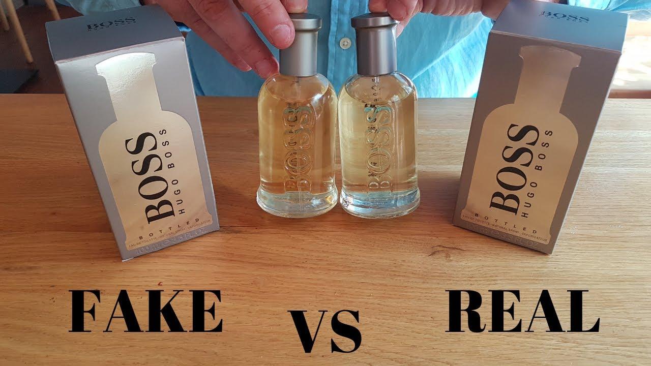 Original boss erkennen bottled Hugo Boss