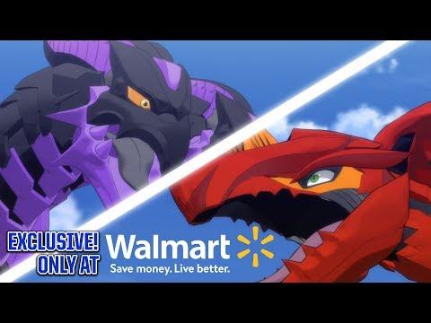 Dragonoid VS. Nillious! WALMART EXCLUSIVE Bakugan Battle Bundle Unboxing!