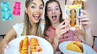 GUMMY VS REAL FOOD | feat Emmelia | Manuella