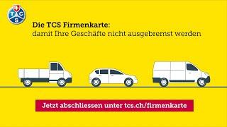 TCS Firmenkarte - der beste Schutz für Ihre Firmenfahrzeuge