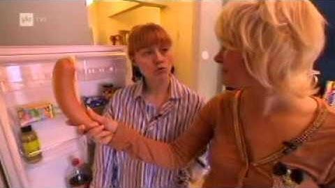 Naisen seksivälineet jääkaappi