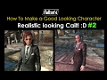 Fallout 4 How To Make a Good Looking Character - Realistic Cait :D - Part 2