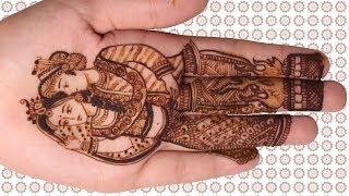 Mehndi Sketch Design - Bridal Mehndi Hand Design